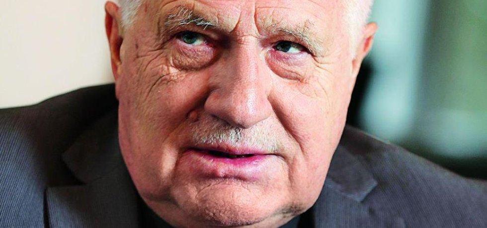 Bývalý prezident České republiky Václav Klaus