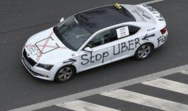 Taxikářům vadí Uber, ilustrační foto