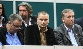 Marek Dalík (uprostřed) na snímku z roku 2007, vpravo od něj expremiér Mirek Topolánek