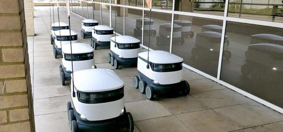 Flotila poštovních robotů