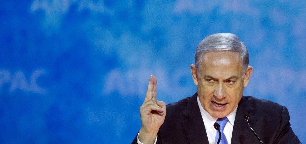 Šéf pravicového Likudu Benjamin Netanjahu