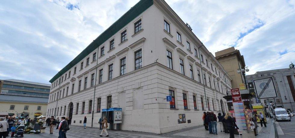 Bývalý klášter na náměstí Republiky (zdroj: ČTK)