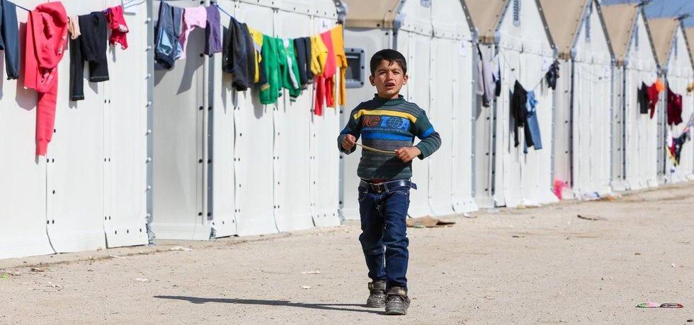 Uprchlický tábor Diavata (ilustrační foto)