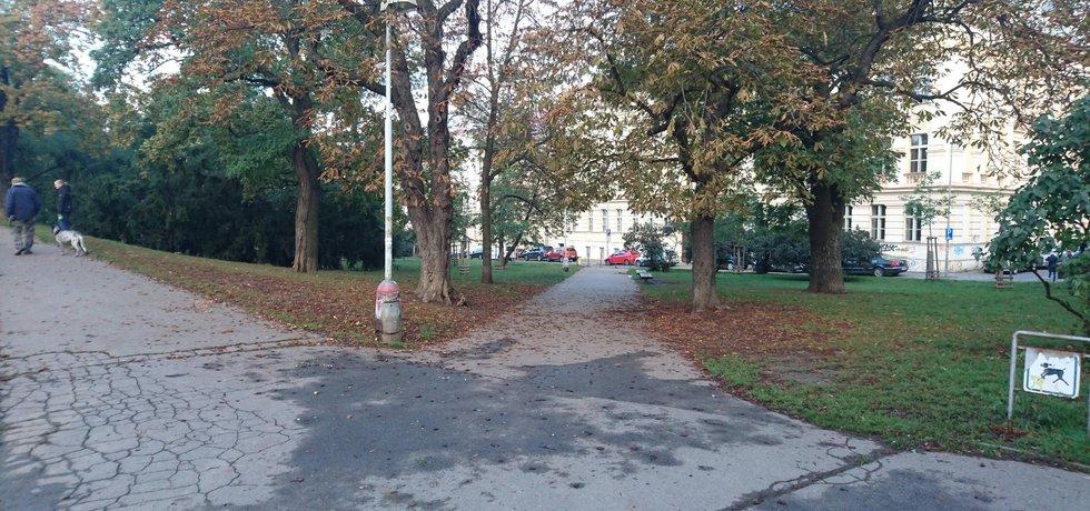 Heroldovy sady v Praze 10