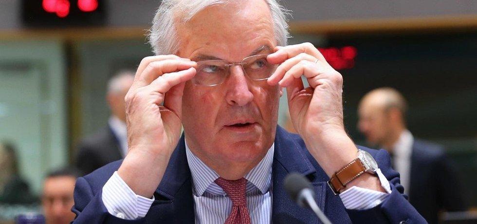 Hlavní vyjednavač EU pro brexit Michel Barnier