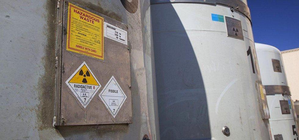 Radioaktivní odpad z vyřazených jaderných zbraní USA.