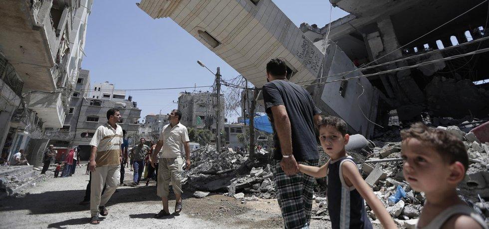 Pásmo Gazy, ilustrační foto