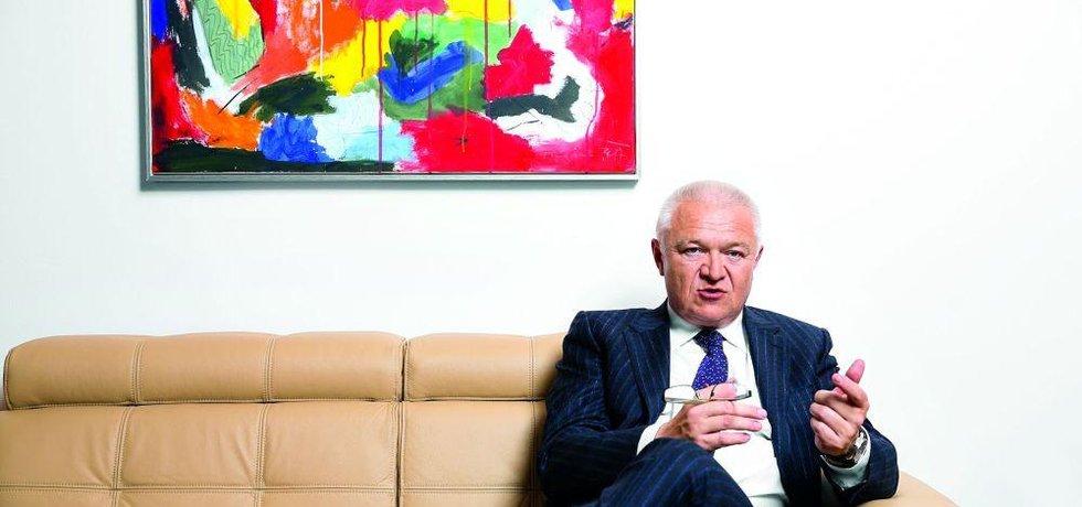 Vášnivý malíř a druhý muž hnutí ANO Jaroslav Faltýnek