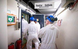 Rozebírání jaderné elektrárny Brunsbüttel nedaleko Hamburku, ilustrační foto