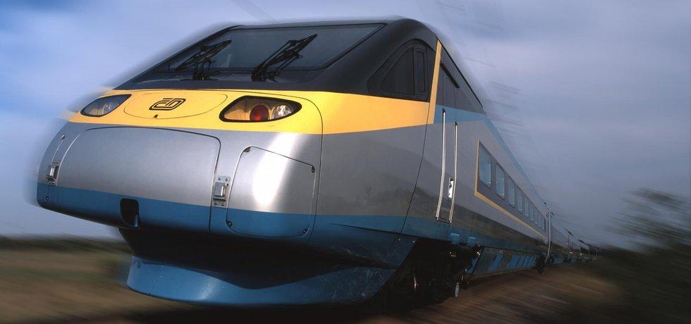 Vlak pendolino Českých drah