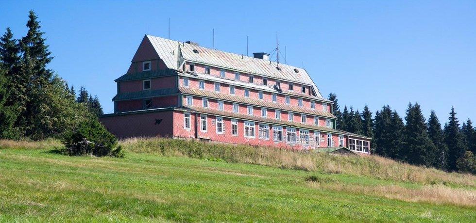 Sokolskou boudu čeká rekonstrukce. Na snímku v současné podobě