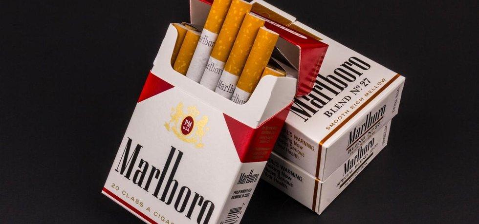 Cigarety Marlboro - ilustrační foto