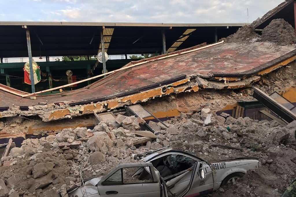 Mexiko zasáhlo ničivé zemětřesení. Zemřelo nejméně 225 lidí