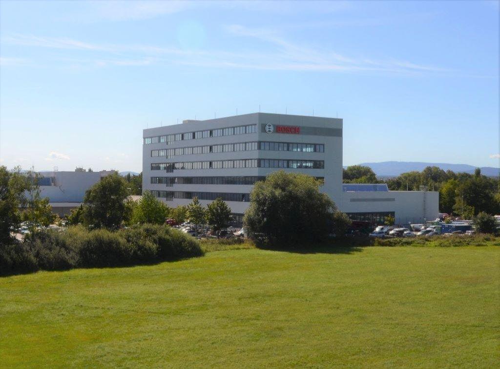 Nové vývojové a technologické centrum Robert Bosch v Českých Budějovicích.