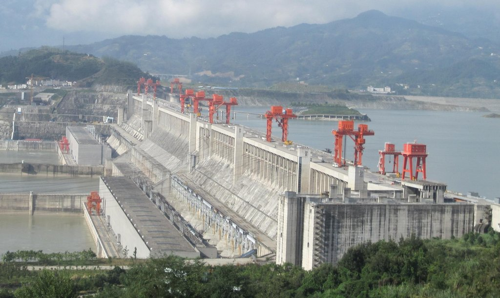 Hydroelektrárna Tři soutěsky