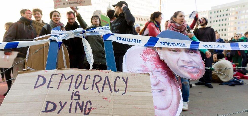 Protesty proti dohodě CETA