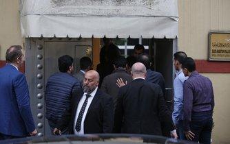 Turečtí policisté  vstoupili na saúdskoarabský konzulát v Istanbulu