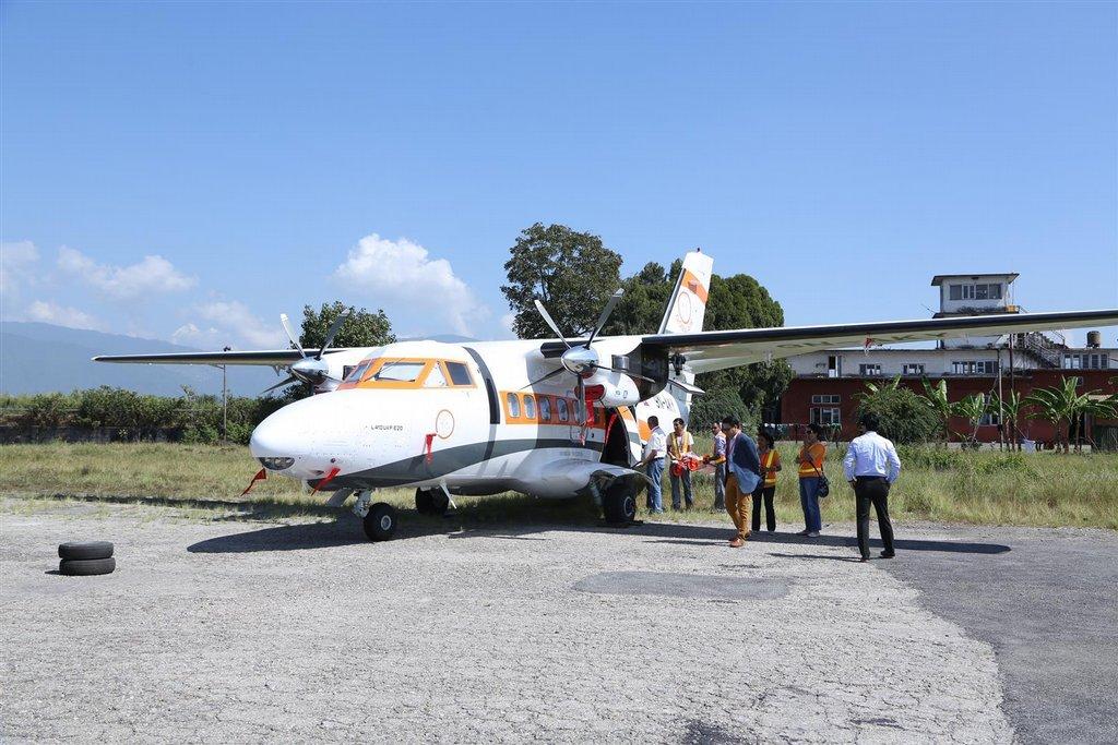 první letoun L410 dodaný do Nepálu