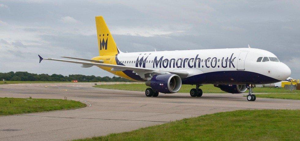 Stroj Monarch Airlines, ilustrační foto
