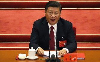 Čínský prezident a stranický šéf Si Ťin-pching