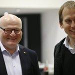 jednička a dvojka pražské kandidátky Daniel Herman a Jan Čižinský