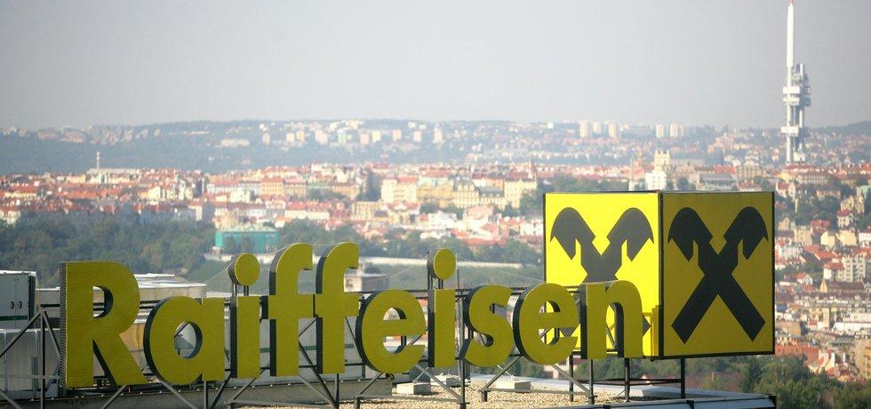 Pražské sídlo Raiffeisenbank