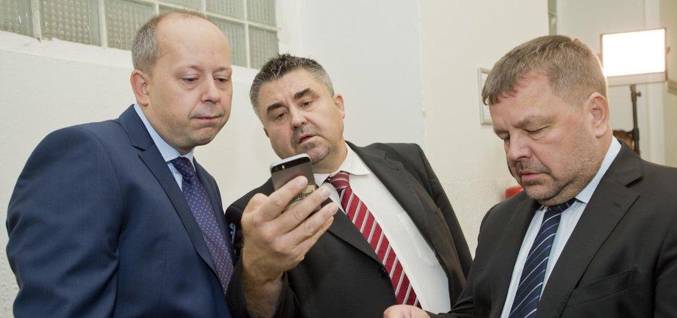 Marek Šnajdr, Tomáš Úlehla a Petr Tluchoř