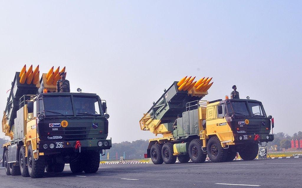 Tatra v indické armádě, raketomety Pinaka