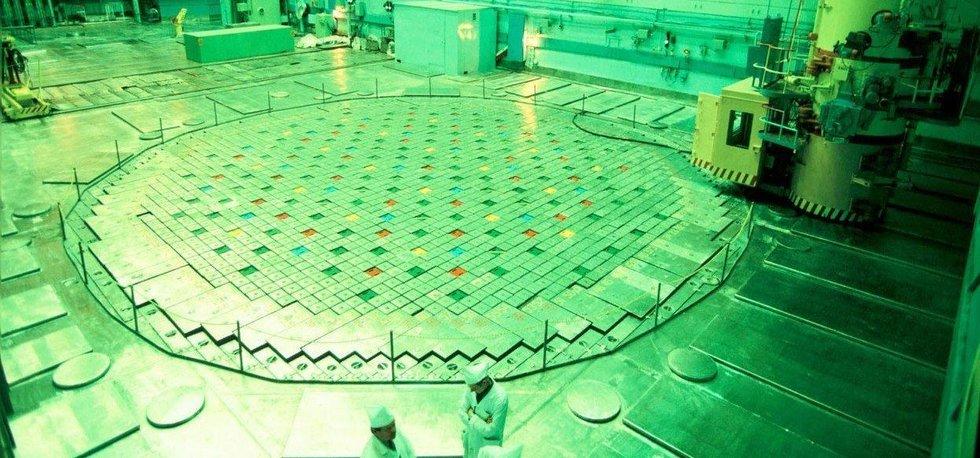 Reaktor jaderné elektrárny Kursk