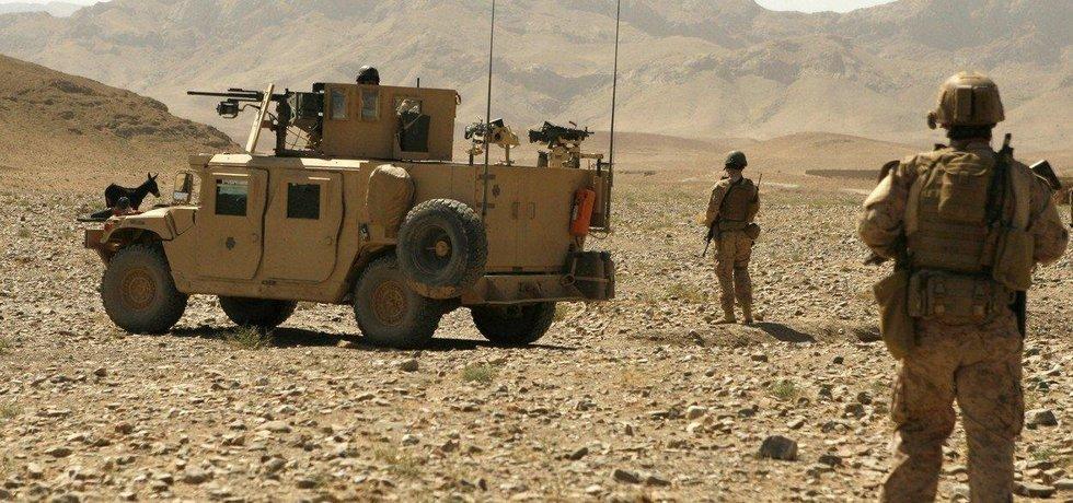 Američtí vojáci v Afghánistánu - ilustrační foto