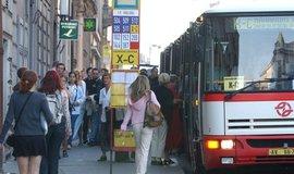 Autobusová doprava v Praze, ilustrační foto