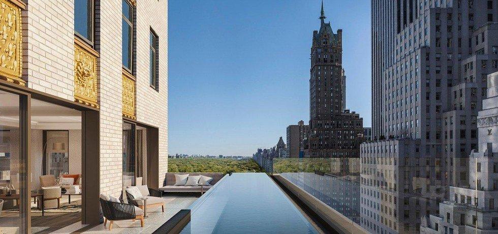 Luxusní bydlení na Manhattanu - ilustrační foto