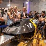 Prezentace prototypu Pod IV pro soutěž v roce 2019. Váží 70 kilogramů a má dosáhnout rychlosti 600 km/h.