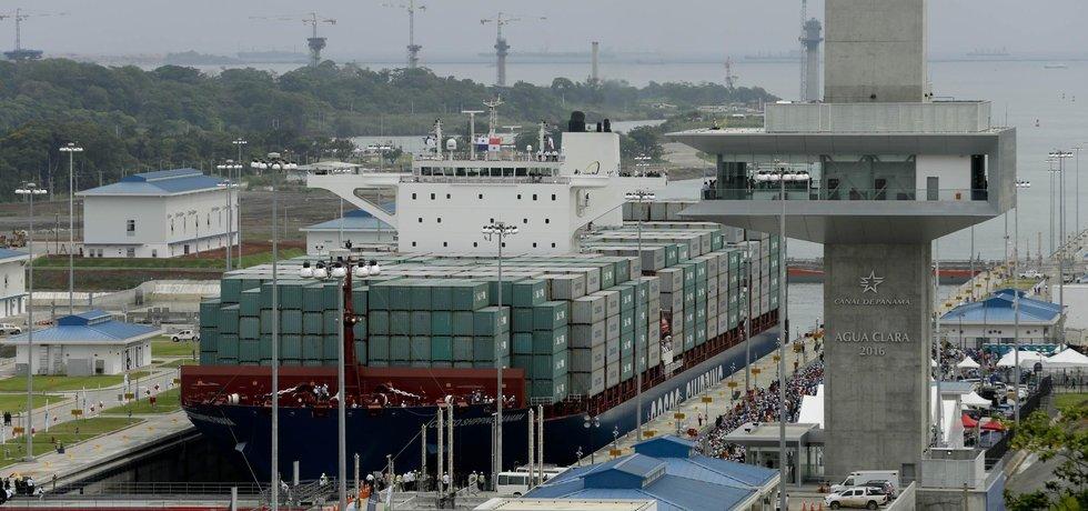 Panamský průplav, ilustrační foto (Zdroj: ČTK)