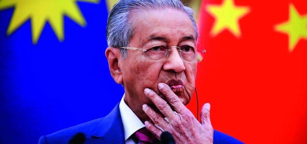 Staronový malajsijský premiér Mahathir Mohamad