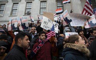 Muslimské protesty v Brooklynu