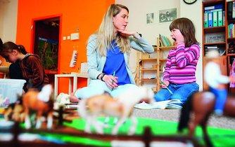 Montessori škola, ilustrační foto