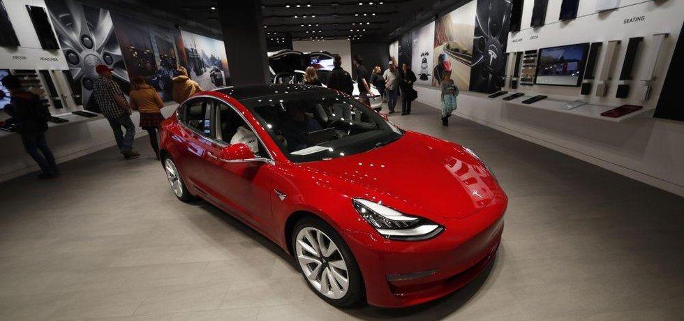 Tesla Model 3, ilustrační foto