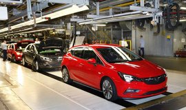 Výroba Opelu Astra