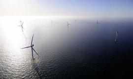 Mořská větrná farma v Severním moři