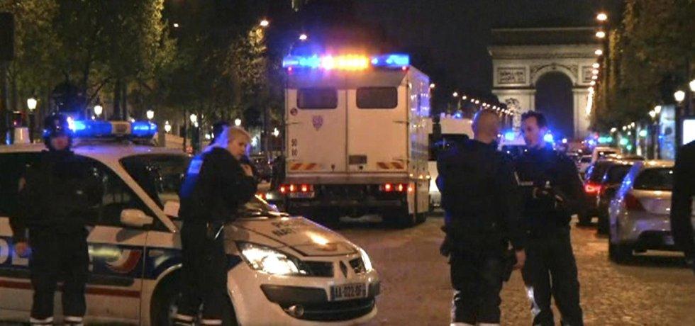 Centrum Paříže po střelbě