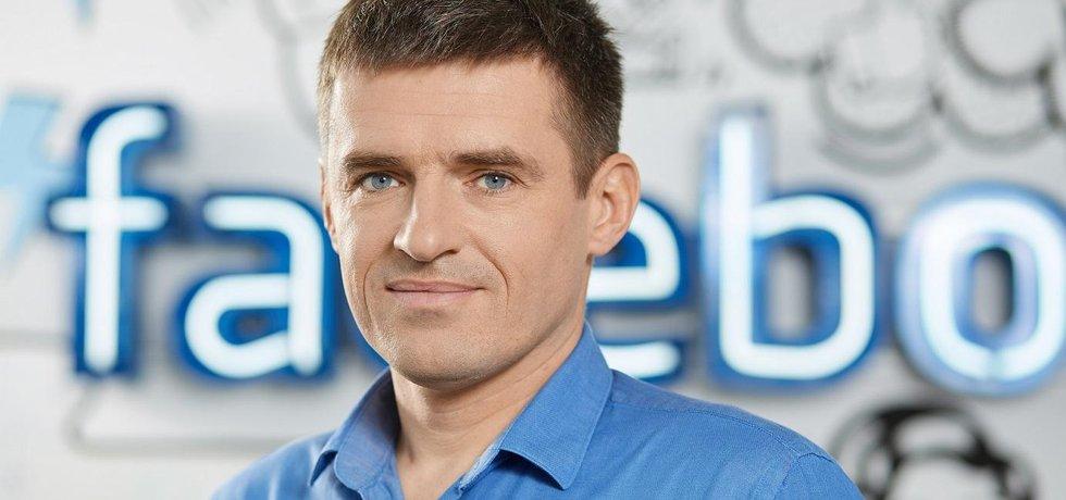 Šéf Facebooku pro střední Evropu Robert Bednarski