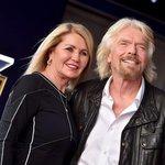 Richard Branson s manželkou Joan Templemanovou v říjnu 2018.