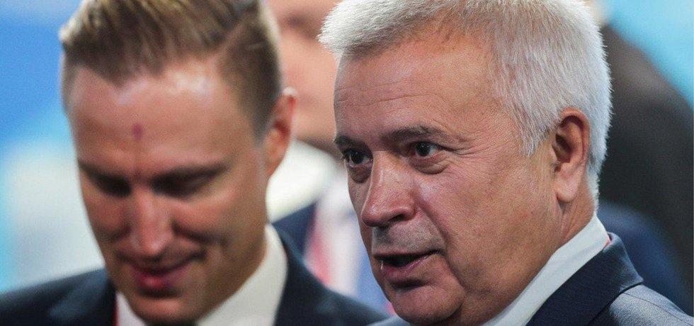 Šéf firmy Lukoil Vagit Alekperov.