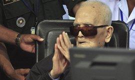 Hlavní ideolog Rudých Khmerů Nuon Che