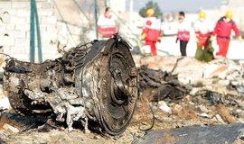 Sestřelené civilní letadlo v Teheránu, ilustrační foto