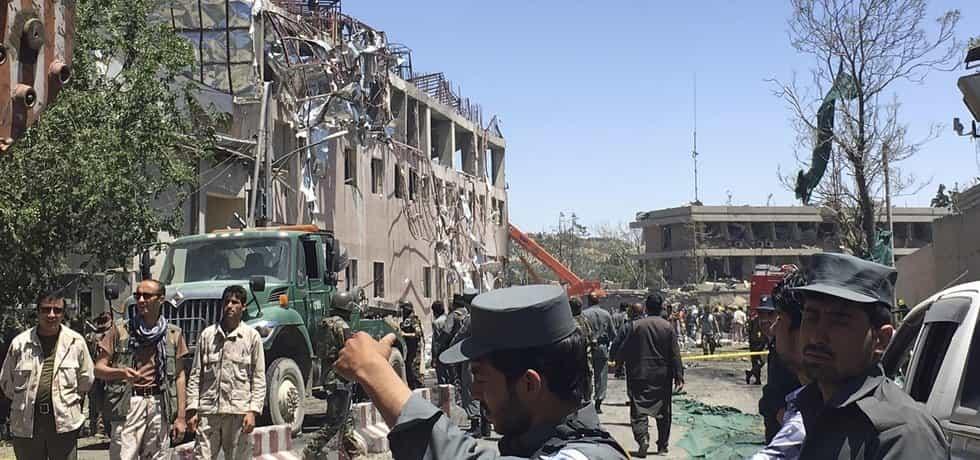 Výbuch v afgánské metropoli Kábulu
