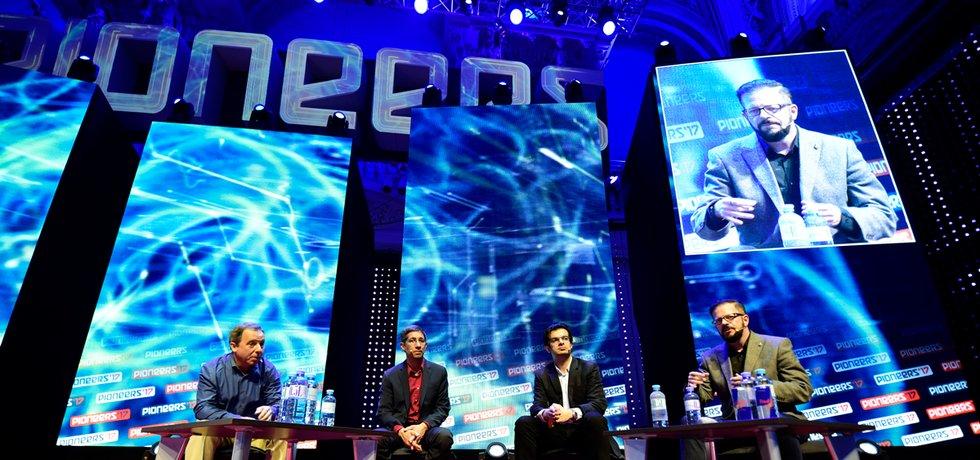 Největší středoevropský festival startupové scény Pioneers.