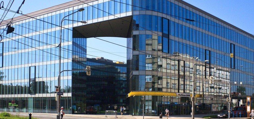 Kancelářská budova Nová Karolina Park v Ostravě