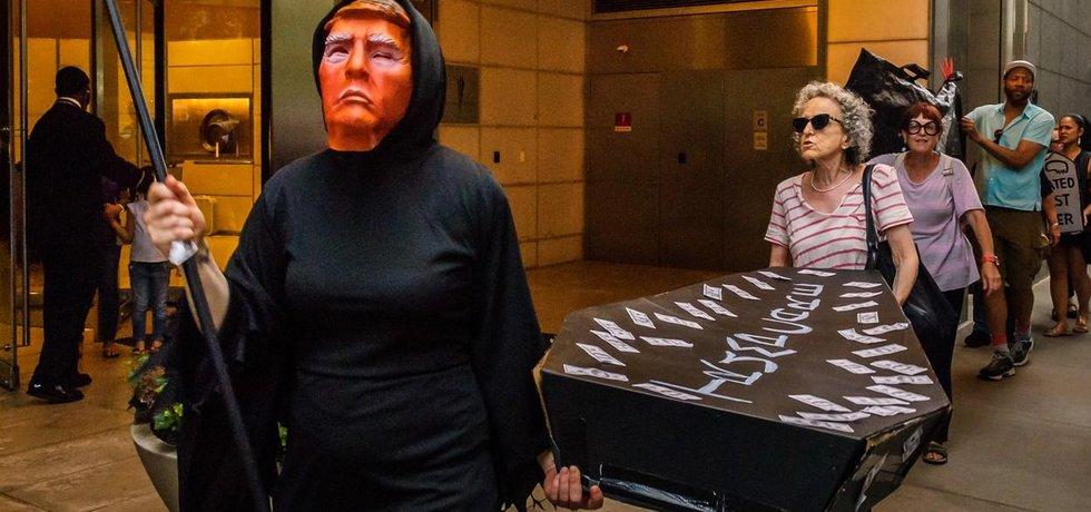 Protesty proti tzv. Trumpcare